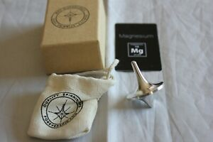 ForeverSpin - Rare Magnesium Spinning Top - w/ Original Box, Card, Bag