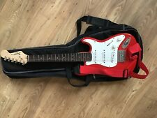 More details for squier mini by fender red childs electric guitar