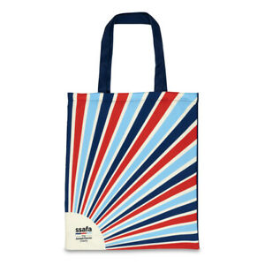 Eco Shopper Tote Bag Reusable Made of 100% Recycled Plastic Bottles SSAFA