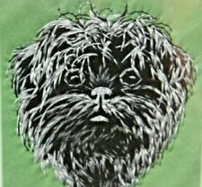 Affenpinscher Dog Breed Bathroom Set Of 2 Hand Towels Embroidered