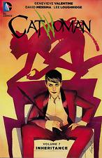 Catwoman Vol 7: Inheritance by Genevieve Valentine 2016, Tpb Dc Comics