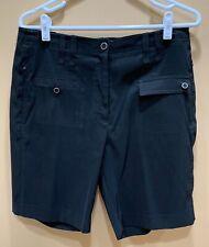 DKNY Golf Black Women's Poly Spandex Shorts 10