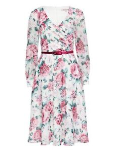 Review Australia ~ Rhythmic Floral Dress ~ Size 14 ~ NWT ~ Don't Miss This 🌸