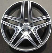 "20"" Mercedes ML Wheels Pirelli Tires ML350 500 GL450 GL 550 R350 (4) Rims"