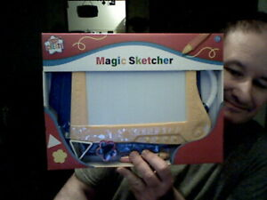 KIDS CREATE MAGIC SKETCHER ETCH A SKETCH BIRTHDAY CHRISTMAS STOCKING DOODLING