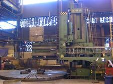 6400/12000 MM SCHIESS VERTICAL BORING MILL 4/2 VKE WITH LIVE SPINDLE, 1968