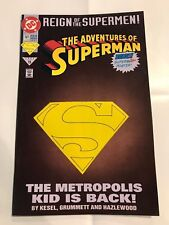 The Adventures of Superman #501 DC comic 1st Print 1993 Die-cut cover NM