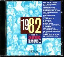 LES PLUS BELLES CHANSONS FRANCAISES - 1982 - CD COMPILATION ATLAS