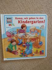 WAS IST WAS Mini Band 12 Komm, wir gehen in den Kindergarten Papp Bilderbuch