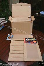 COMIC AND MAGAZINE MAILING ENVELOPES - BOX OF 125. LARGE LETTER POSTAGE SIZE