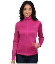 New Womens North Face Fleece Zip Jacket Agave Coat Medium