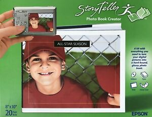Epson Storyteller Photo Book Creator - 8in x 10in (20 Pages) #M14