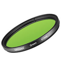 Neewer 67MM Green Lens Filter for Canon Rebel T5i T4i T3i T2i EOS 70D 700D 650D