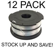Replacement Trimmer Spool for Black and Decker DF-065-BKP 12-Pack