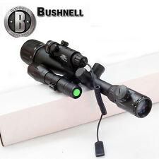 Bushnell 6-24x50 Illuminated Duplex Reticle Rifle Scope + Laser Sight+ T6  Torch