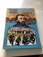 Avalon Hill 1981 Fury in the West Game Civil War Battle Shiloh Military Strategy