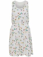 23/6 NEU ONLY Damen Sommer Kleid kurz onlDIANA S/L SHORT DRESS WVN  Gr. M / 38