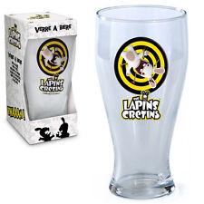 Verre à bière Lapins crétins