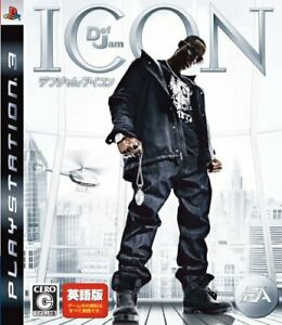 USED PS3 PlayStation3 DefJam ICON Def Jam icon English version 08084JAPAN IMPORT