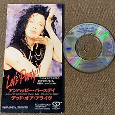 """DEAD OR ALIVE Unhappy Birthday JAPAN 3"""" CD SINGLE ESDA7077 Not-snapped /Not-fold"""