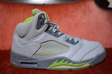 Nike Air Jordan V 5 Retro 2006 Silver Green Bean Size 9.5 136027-031 Quai