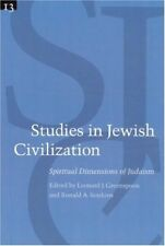 Very Good, Studies in Jewish Civilization: Spiritual Dimensions of Judaism v. 13