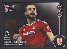 Topps Now - Premier League 2016/17 - 019 Alvaro Negredo - Middlesbrough /63