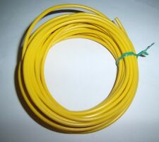 5 Ft 18 Gauge AWG Primary Car Alarm Power Wire 12V Electronic Cable Yellow