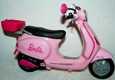 "2008 Mattel Pink Vespa Scooter Motorcycle 7""x13"""