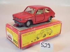 MAJORETTE 1/55 n. 203 FIAT 127 BERLINA ROSSO OVP #529