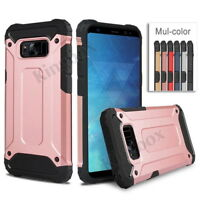 Ultimate Armor Heavy Duty Hybrid Shockproof Case Cover For Samsung S6 S7 S8 Plus