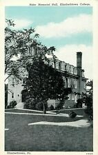 c1920 Rider Memorial Hall, Elizabethtown College, Pennsylvania Postcard