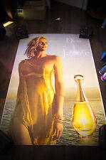 DIOR J'ADORE CHARLIZE THERON C 4x6 ft Bus Shelter Original Fashion Poster