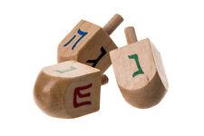 1 DREIDEL ~ ~ ~ ~ Wooden Draidel, Jewish gift Spinning Chanukah Judaica present