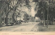 A Quiet Day In The Village, Amherst, Massachusetts MA 1913