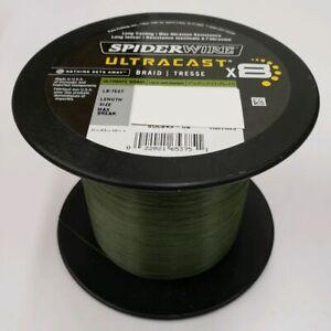 SpiderWire UltraCast Ultimate Braid 65Lb 2187 Yards  SUCBK65-UB