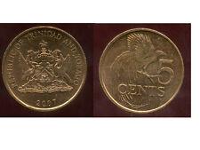 TRINIDAD ET TOBAGO    5  cents  2007   ANM   ( bis )
