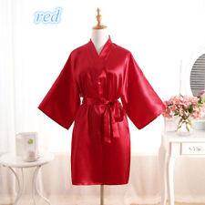 *Women robe Silk Satin Robes Wedding Bridesmaid Bride Gown kimono Robe HOT*