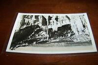 Rare Antique RPPC Real Photo Postcard AZO 1926-1940s Amazing Canyons Geology