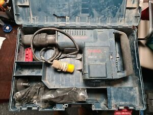 Bosch Concrete Breaker GSH11e 110v Sds-max Demolition Hammer110v for parts only