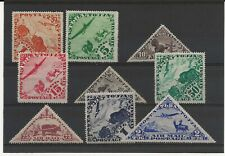 More details for tanna touva 1934 air basic set of 9 sg.51-9  mint hinged