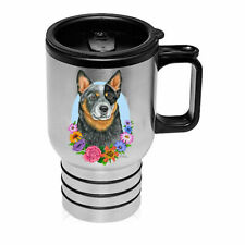 Australian Cattle Dog Blue Stainless Steel 16oz Tumbler
