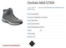 """Herren-Wanderschuhe """"Meindl Durban Mid GTX"""", Farbe: anthrazit/blau, Gr. 8,5"""