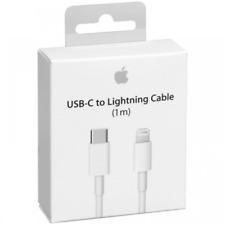 Apple MK0X2ZM/A 1m Cable de Carga de Lightning a Usb-C - Blanco