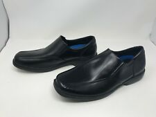 Mens Skechers (64611) RELAXED FIT CASWELL NOREN Black dress shoes 413o