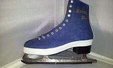 Larsen Jeans blau Eiskunstlaufschlittschuhe Gr. 35 Schlittschuh