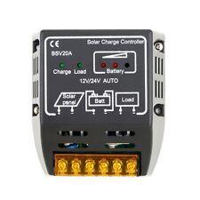 Solar Regulator Panel Battery Charge Controller 20A 12V/24V Safe Protection