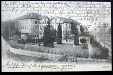 SWITZERLAND~Schweiz ~1908 MUNCHENBUCHSEE ~ Hotel Baren  ~ Bear Hotel