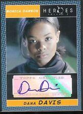 Heroes Season 2 Trading Cards Auto Dana Davis/ Monica