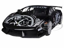 LAMBORGHINI GALLARDO LP560-4 BLACK SUPER TROFEO GT RACING 1/24 BY MOTORMAX 73363